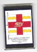 MARITIME REGT OF FOOT COLOURS 1676 LARGE FRIDGE MAGNET